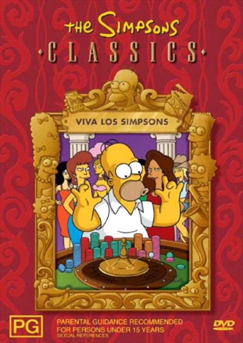 Simpsons The Viva Los Simpsons Animated Dvd Sanity