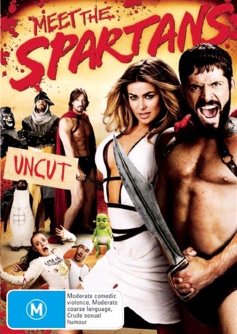 Meet the Spartans (Uncut)   DVD
