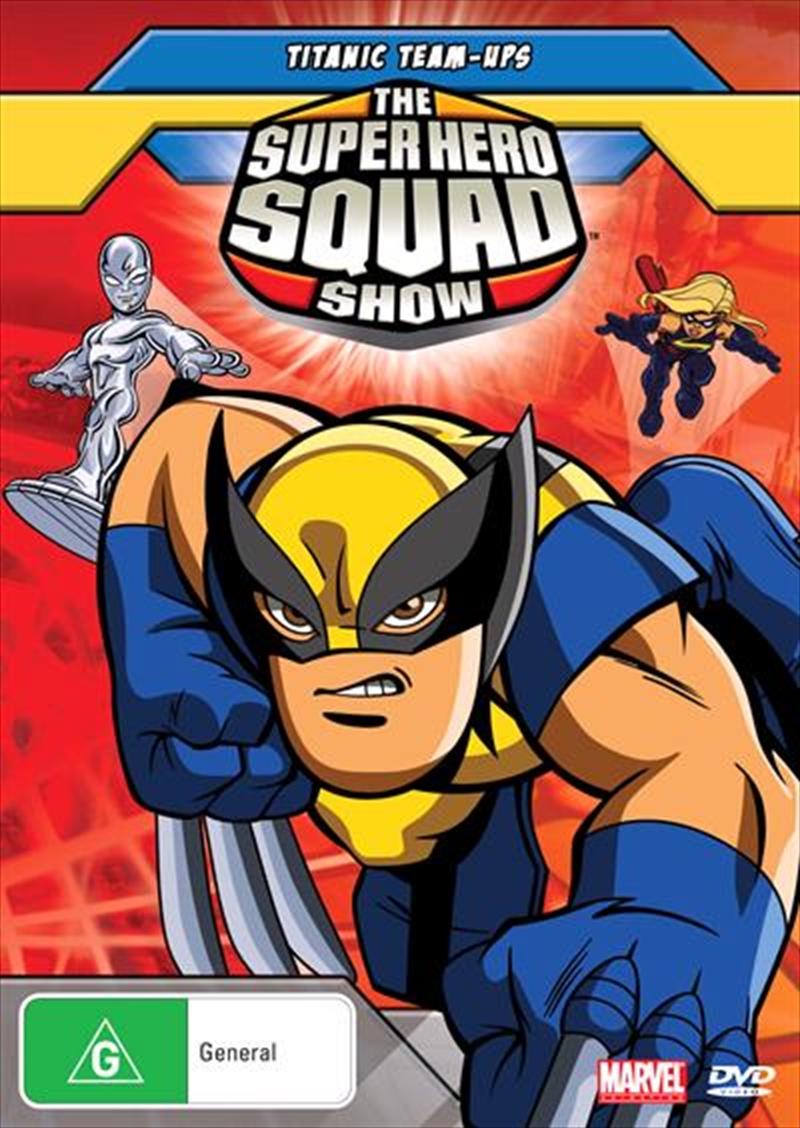 Super Hero Squad Show - Vol 2 - Titanic Team Up   DVD