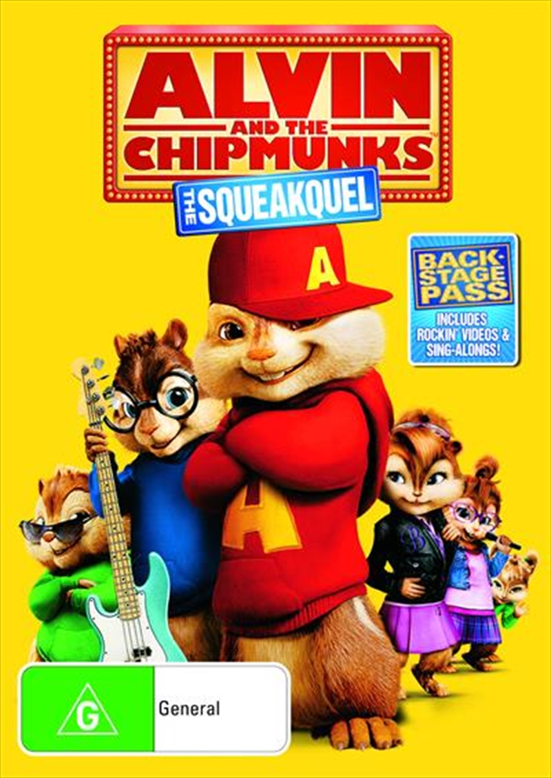 Alvin And The Chipmunks - The Squeakquel | DVD