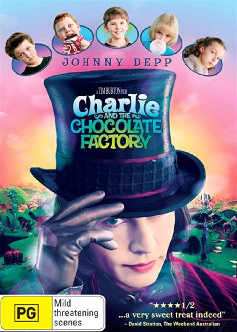 Charlie And The Chocolate Factory | DVD