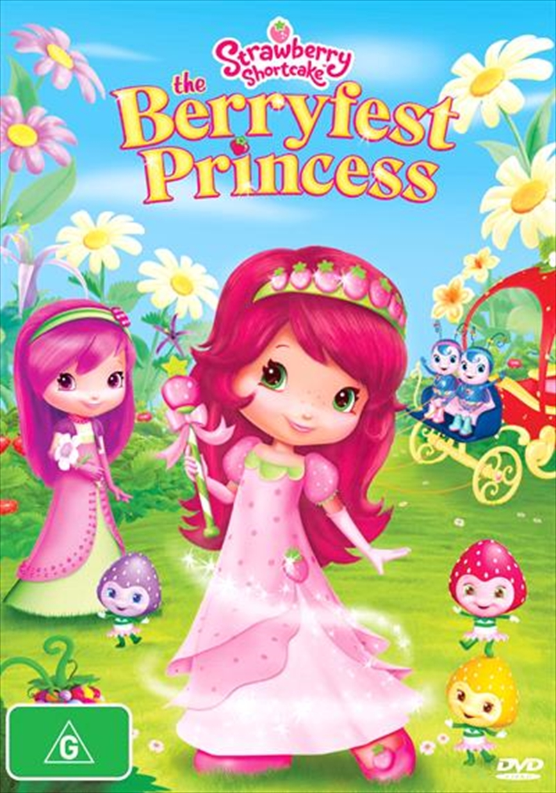 Strawberry Shortcake - Berryfest Princess | DVD