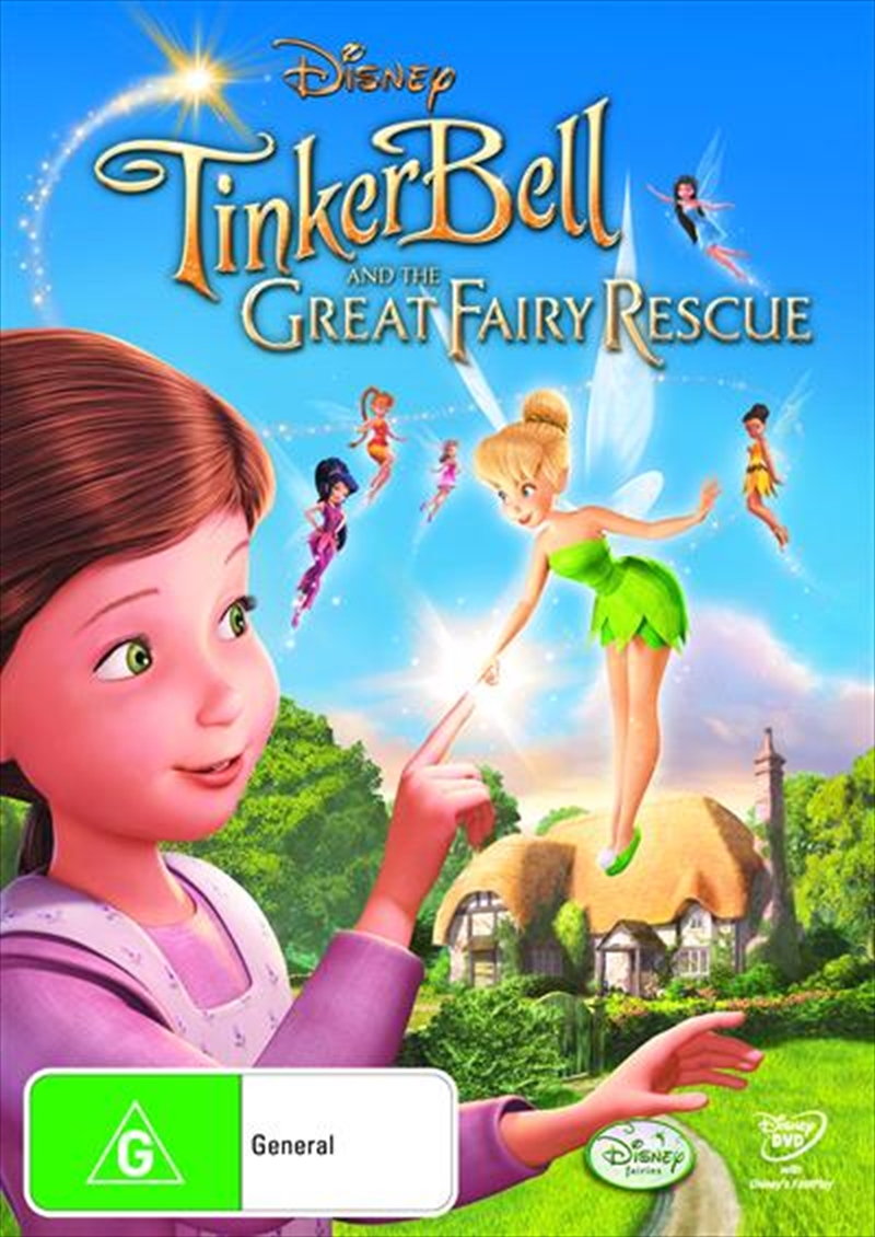 Tinker Bell And The Great Fairy Rescue | DVD