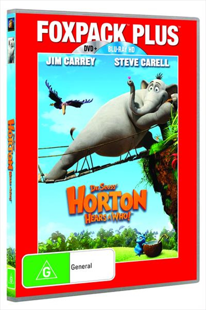 Horton Hears a Who! | DVD + Blu-ray Combo Pack | Blu-ray/DVD
