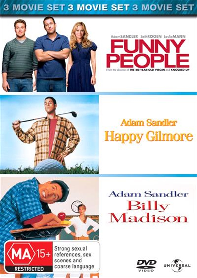 Funny People / Happy Gilmore / Billy Madison | DVD