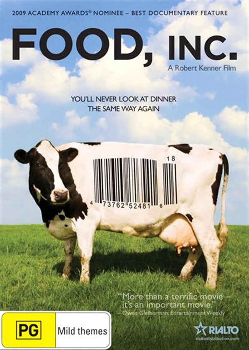 documentary analysis food inc Write a short paragraph or so about what you know about where your food comes from i want you to think about where it comes from before it gets to the supermarket or the restaurant.