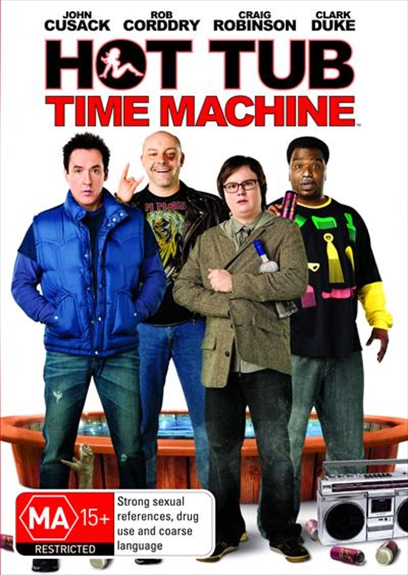 Hot Tub Time Machine | DVD