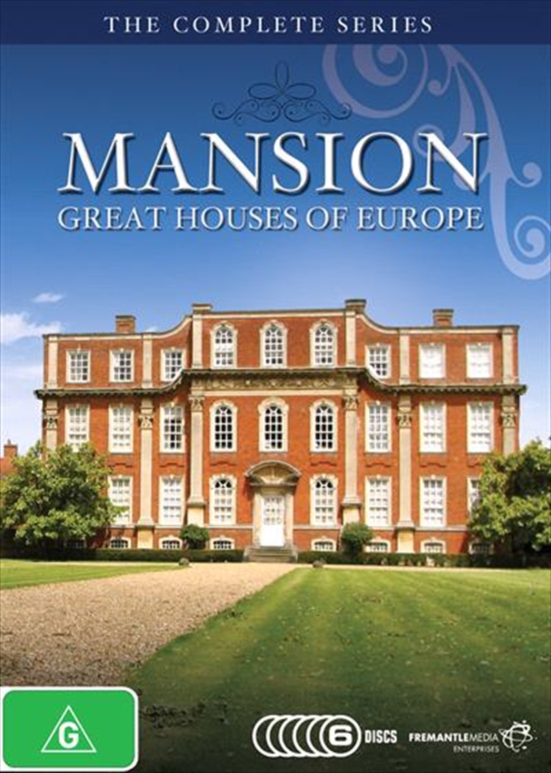 Mansion: Great Houses Of Europe: The Complete Series | DVD