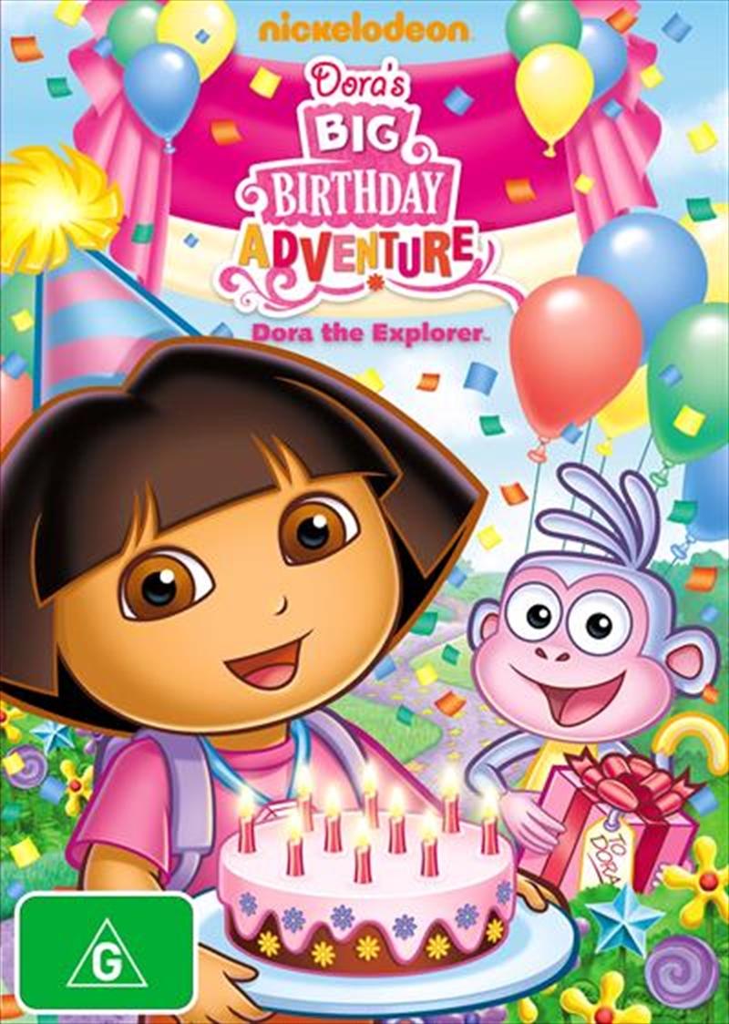 Dora The Explorer- Dora's Big Birthday Adventure | DVD