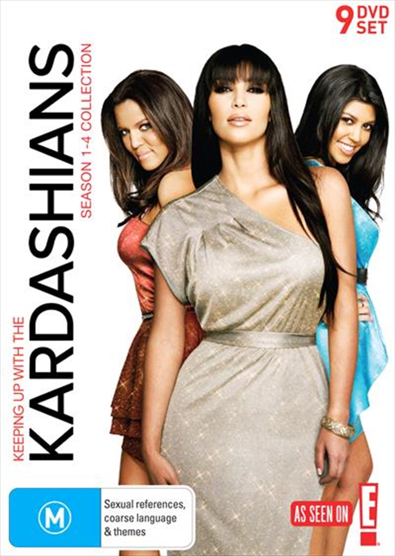 Keeping up with the kardashians season 1 4 boxset for 1st season of keeping up with the kardashians