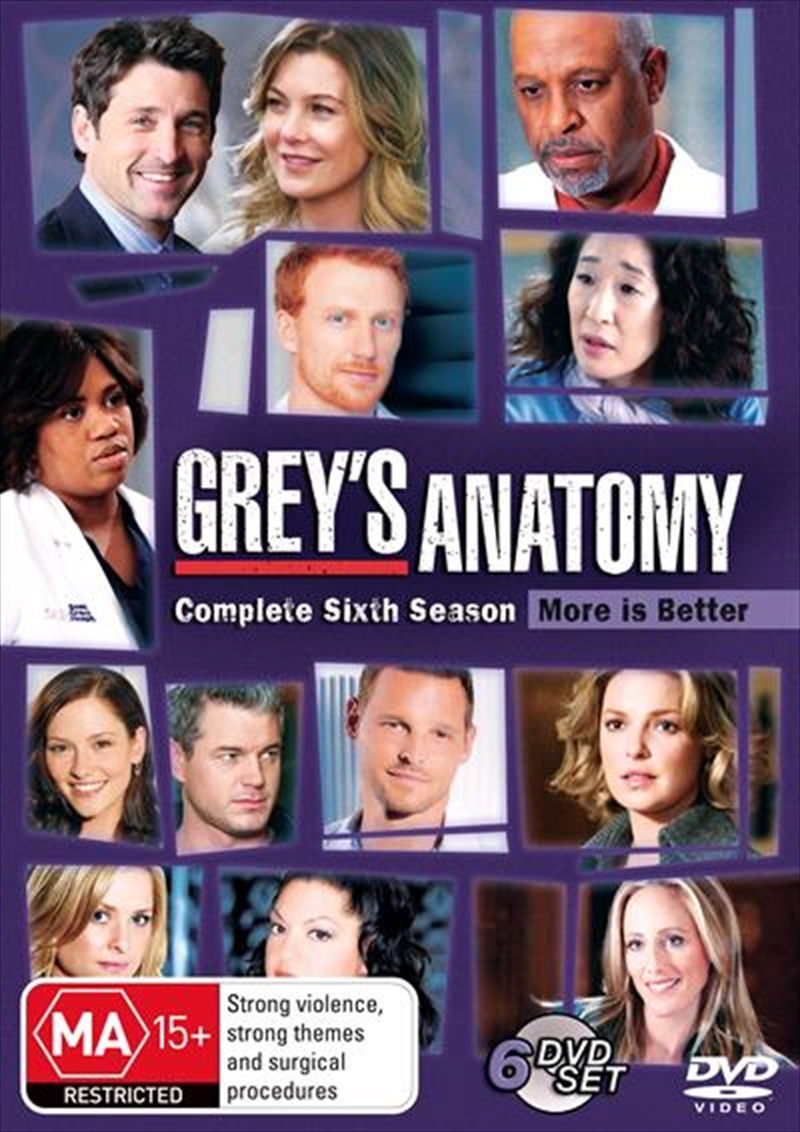 Grey's Anatomy - Season 06 | DVD