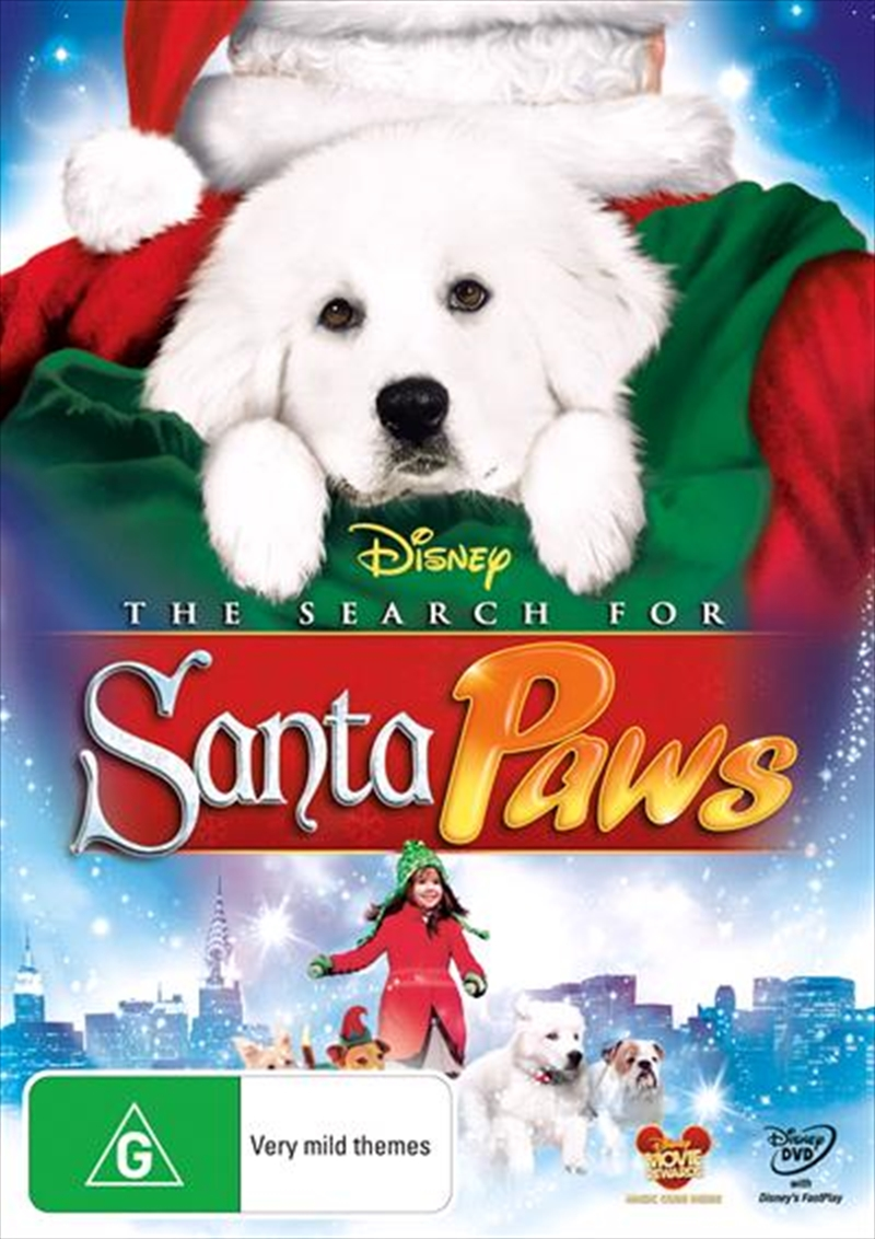 Search For Santa Paws, The | DVD