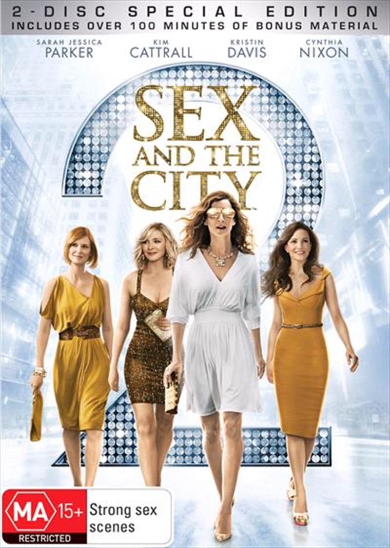 Sex and the city movie dvd special