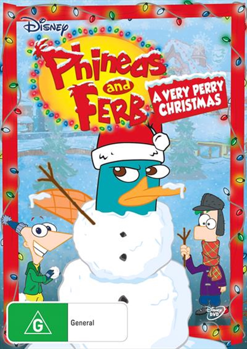 Phineas And Ferb - A Very Perry Christmas | DVD