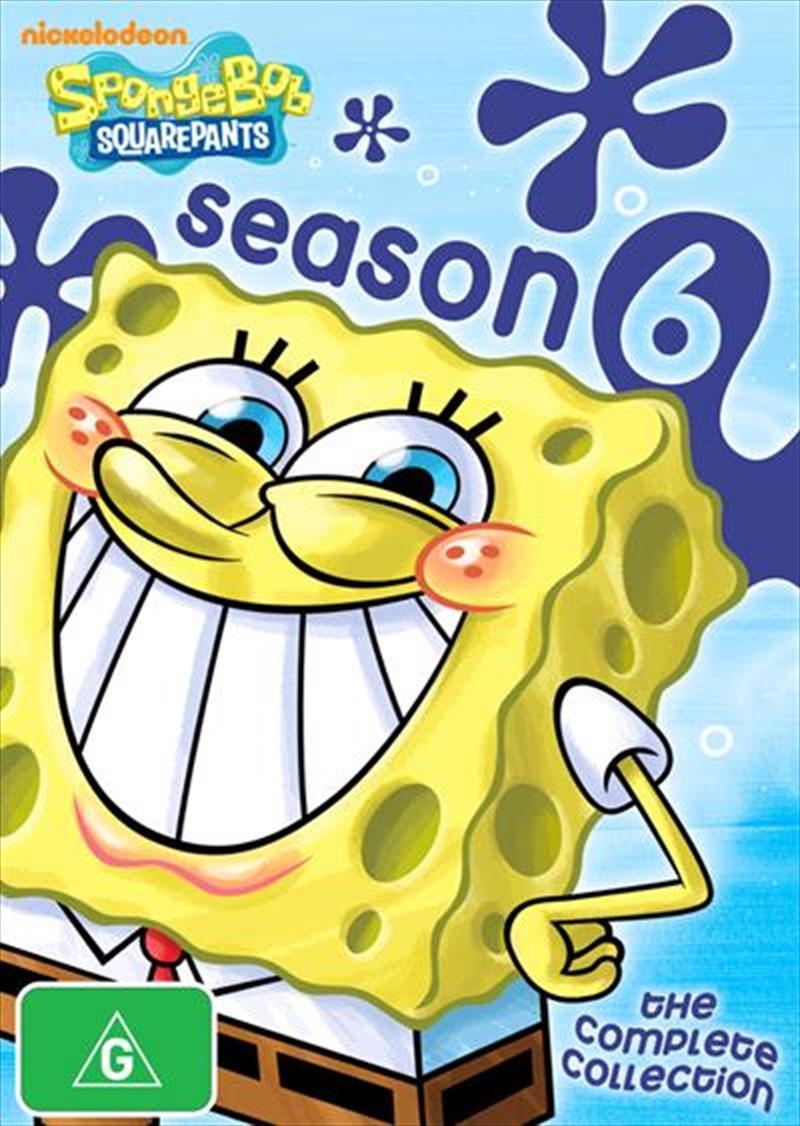 Spongebob Squarepants - Season 06 | DVD