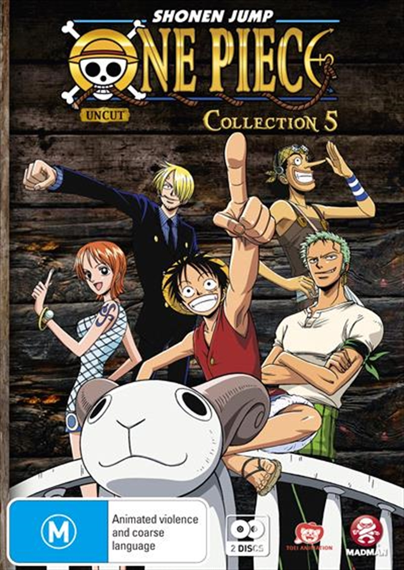 One Piece - Uncut - Collection 5 Eps 54-66 | DVD