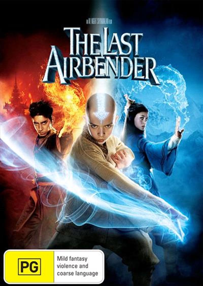 Last Airbender, The   DVD