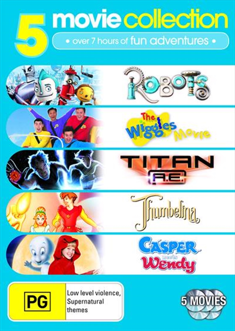 casper and wendy movie. robots / the wiggles movie titan a.e. thumbelina casper meets wendy and