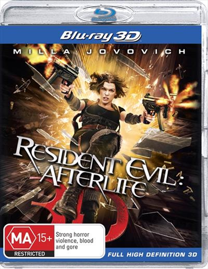 Resident Evil - Afterlife | 3D Blu-ray | Blu-ray 3D
