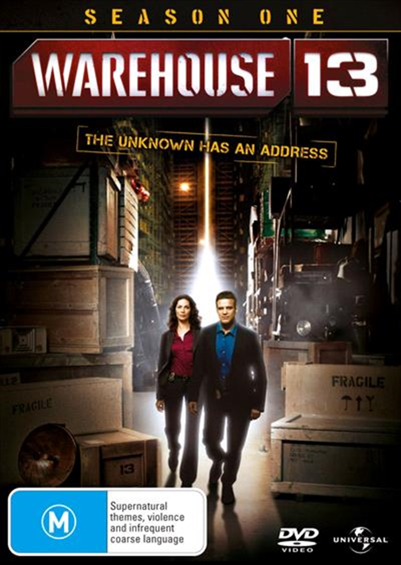 Warehouse 13 - Season 1 | DVD