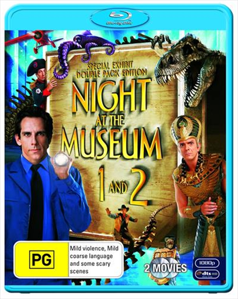 Night At The Museum / Night At The Museum 2 | Blu-ray