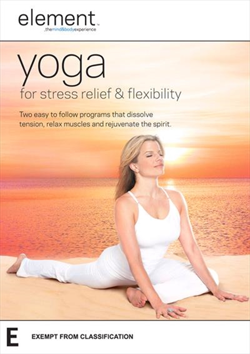 Element: Yoga For Stress Relief and Flexibility | DVD