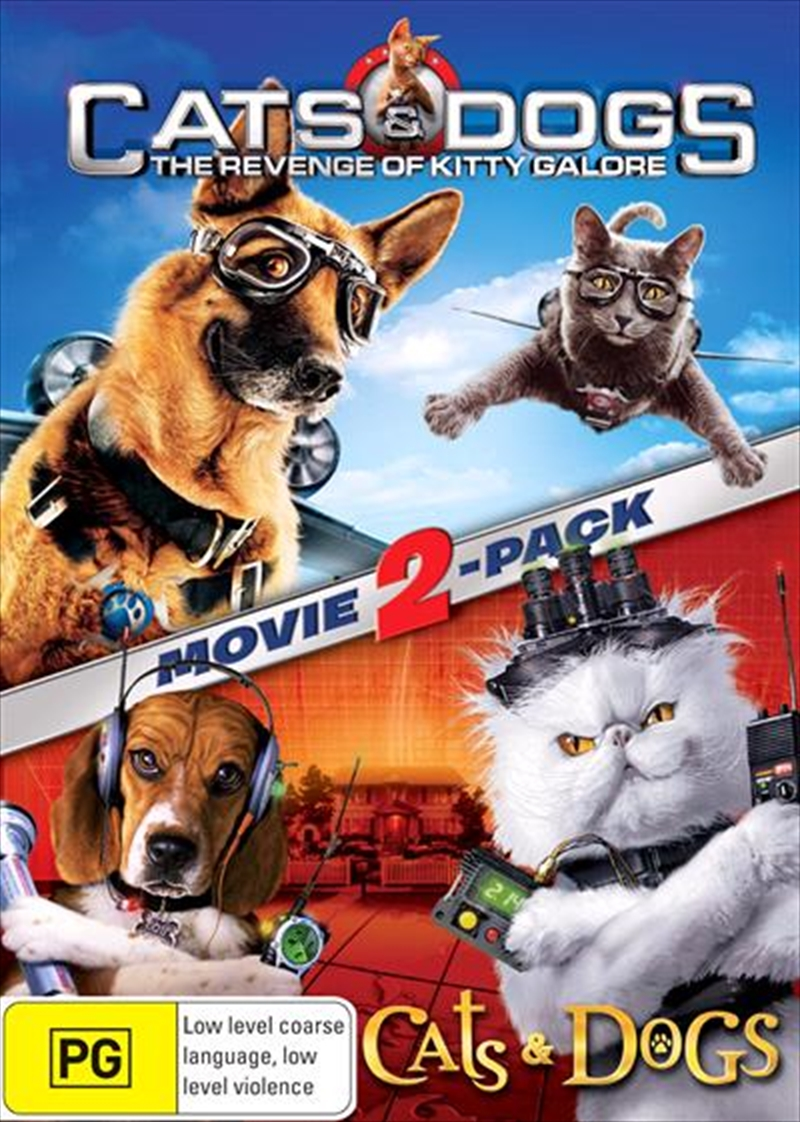 Cats and Dogs / Cats and Dogs - The Revenge Of Kitty Galore | DVD