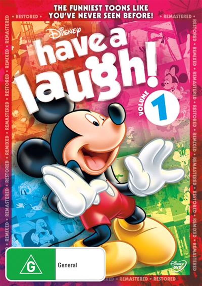 Have A Laugh With Mickey - Vol 1 | DVD