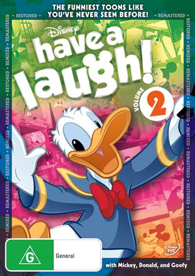 Have A Laugh With Mickey - Vol 2 | DVD