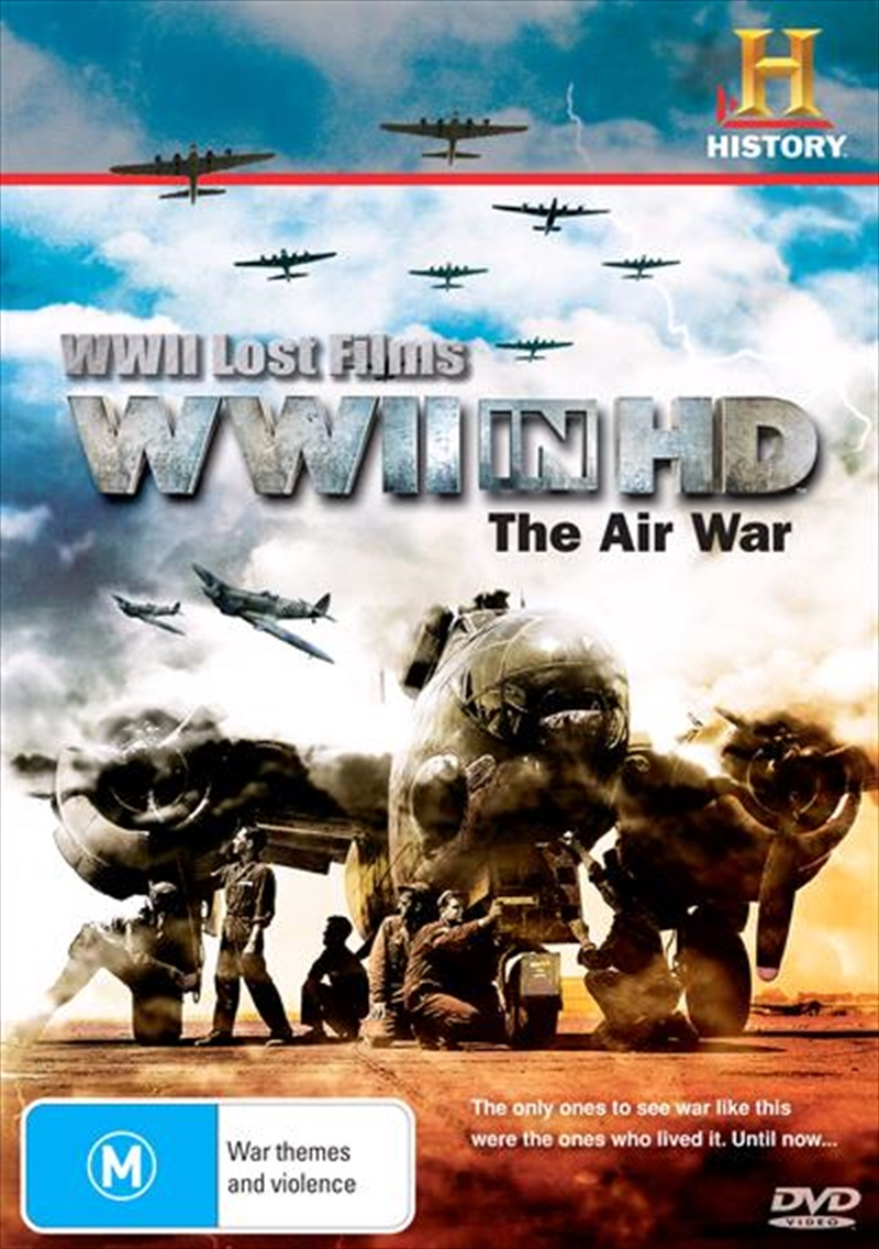 WWII Lost Films: WWII In HD: The Air War | DVD