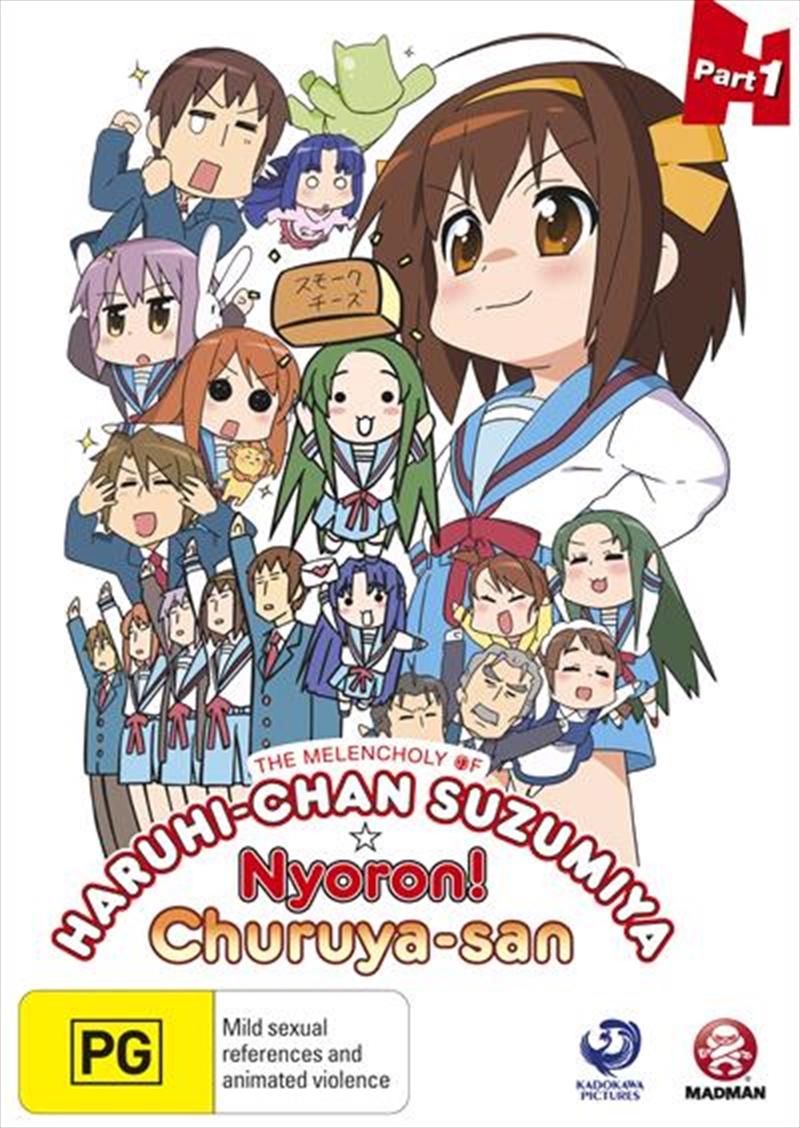 Melancholy Of Haruhi-Chan Suzumiya and Nyoron! Churuya-San - Collection 1, The