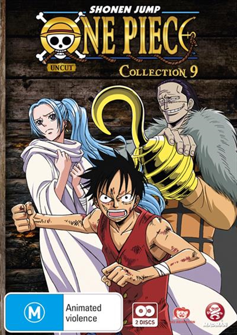 One Piece - Uncut - Collection 9 Eps 104-116 | DVD
