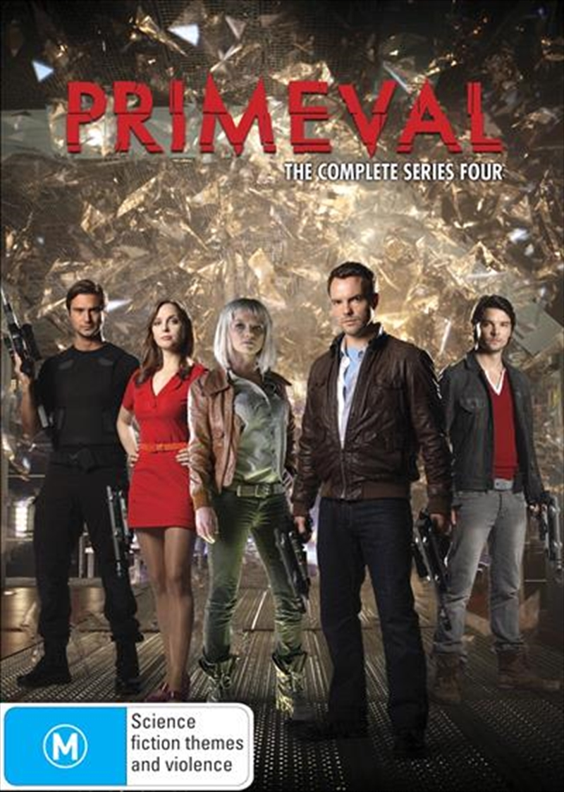 Primeval - The Complete Series Four   DVD
