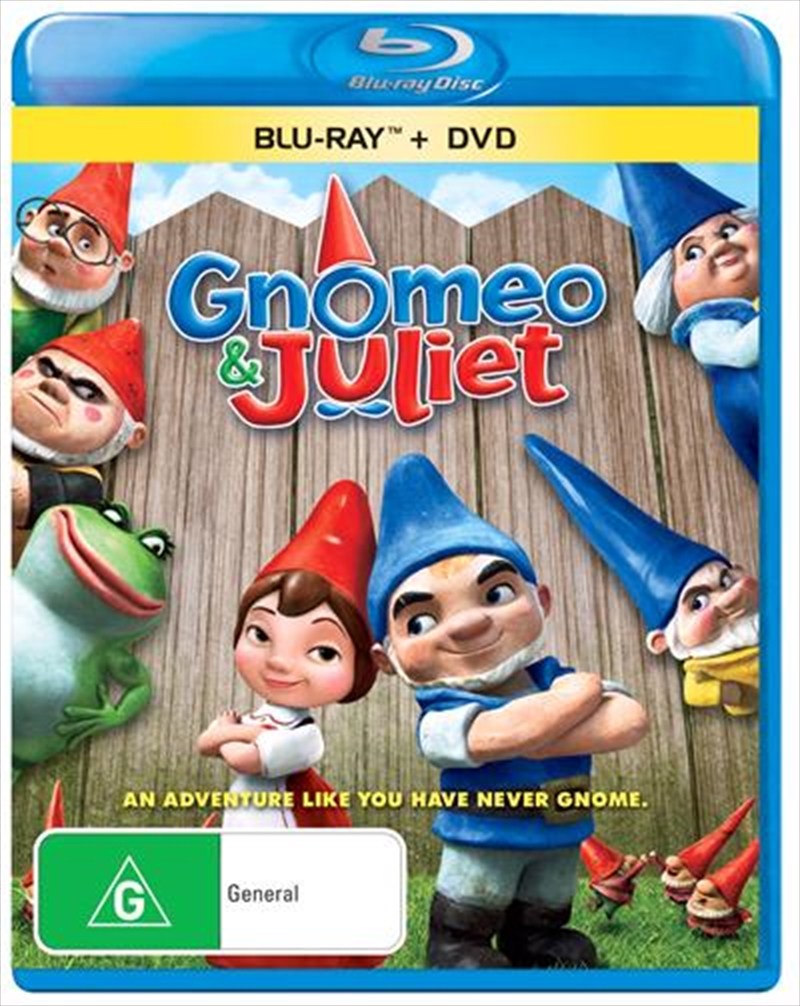 Gnomeo and Juliet | Blu-ray/DVD