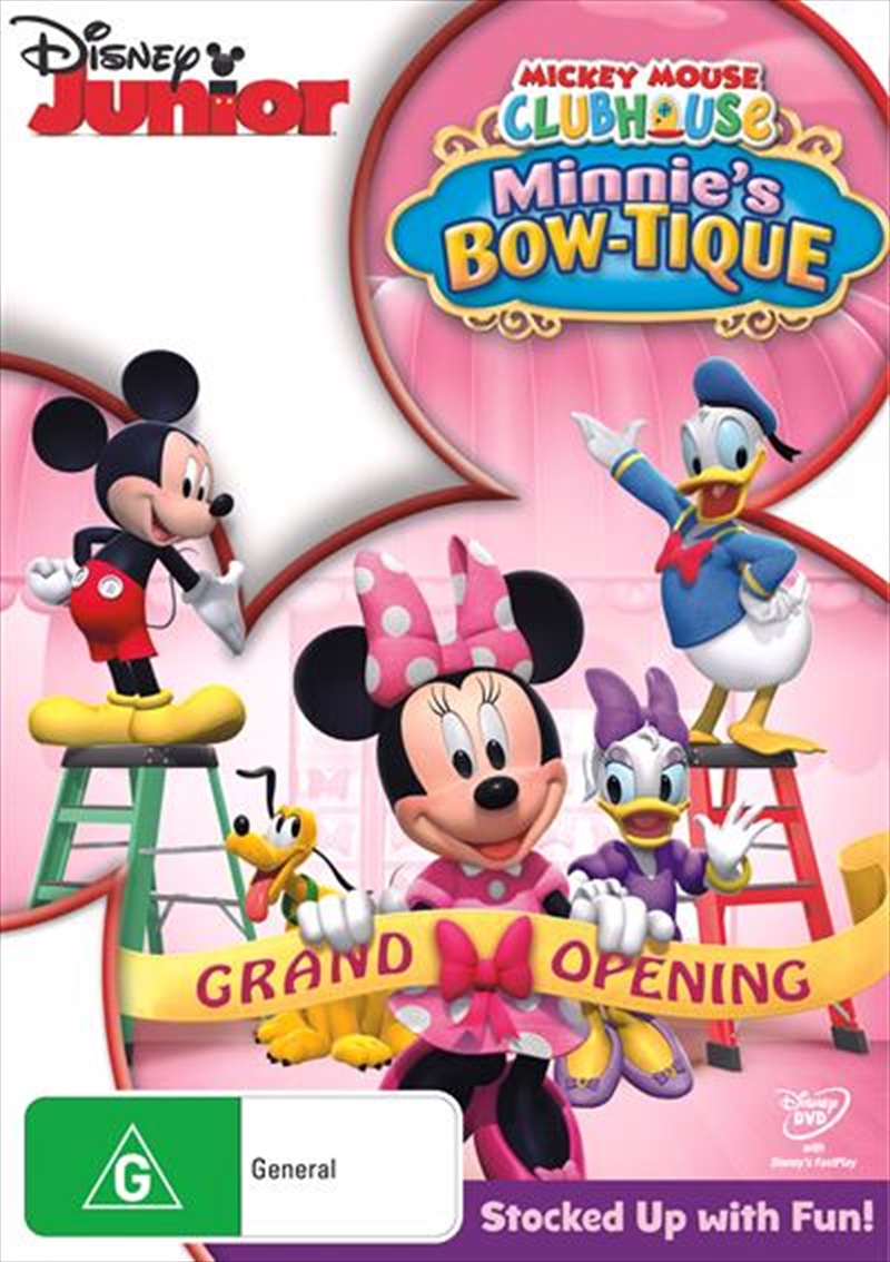 Mickey Mouse Clubhouse - Minnie's Bow-Tique | DVD