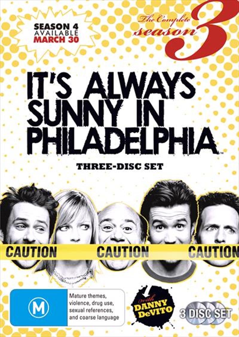It's Always Sunny In Philadelphia - Season 03 | DVD