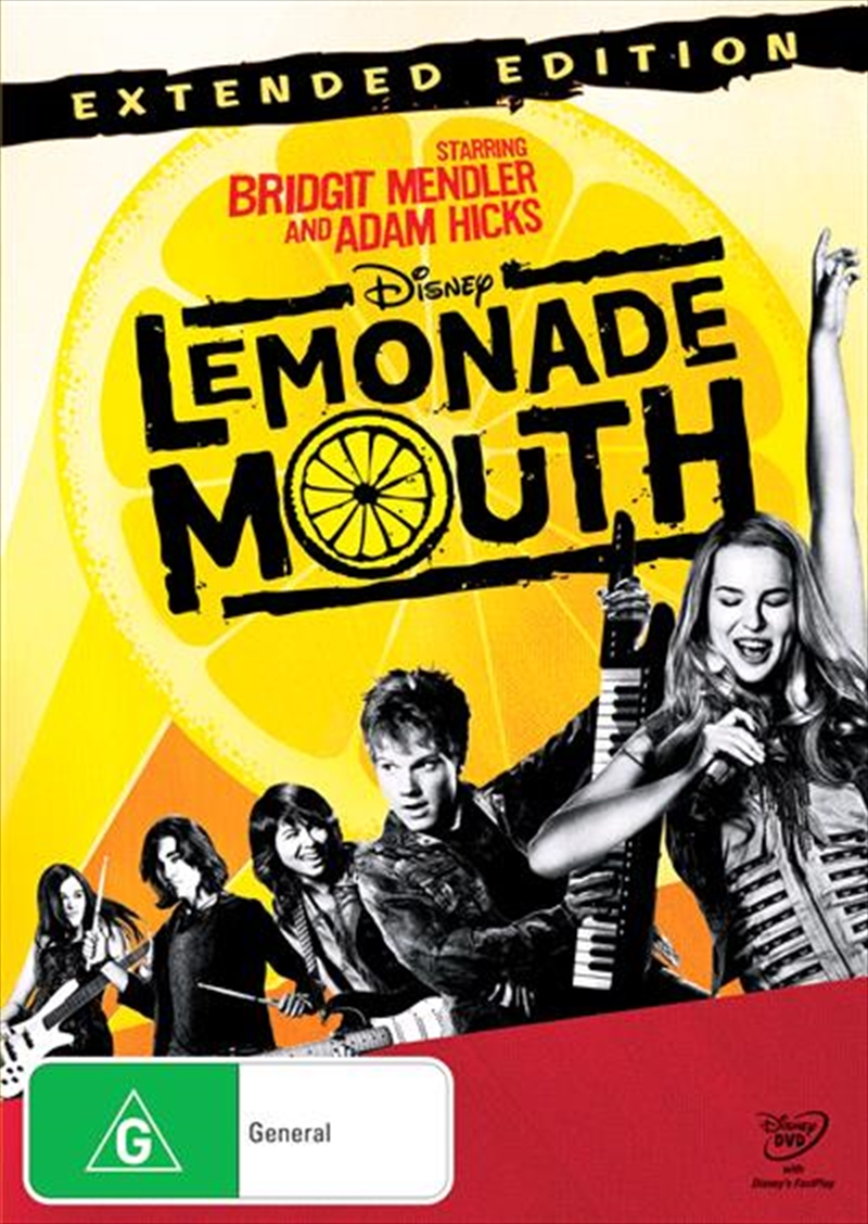 Lemonade Mouth | DVD
