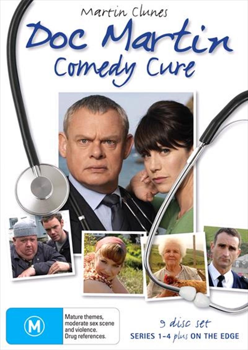 Doc Martin Comedy Cure   DVD