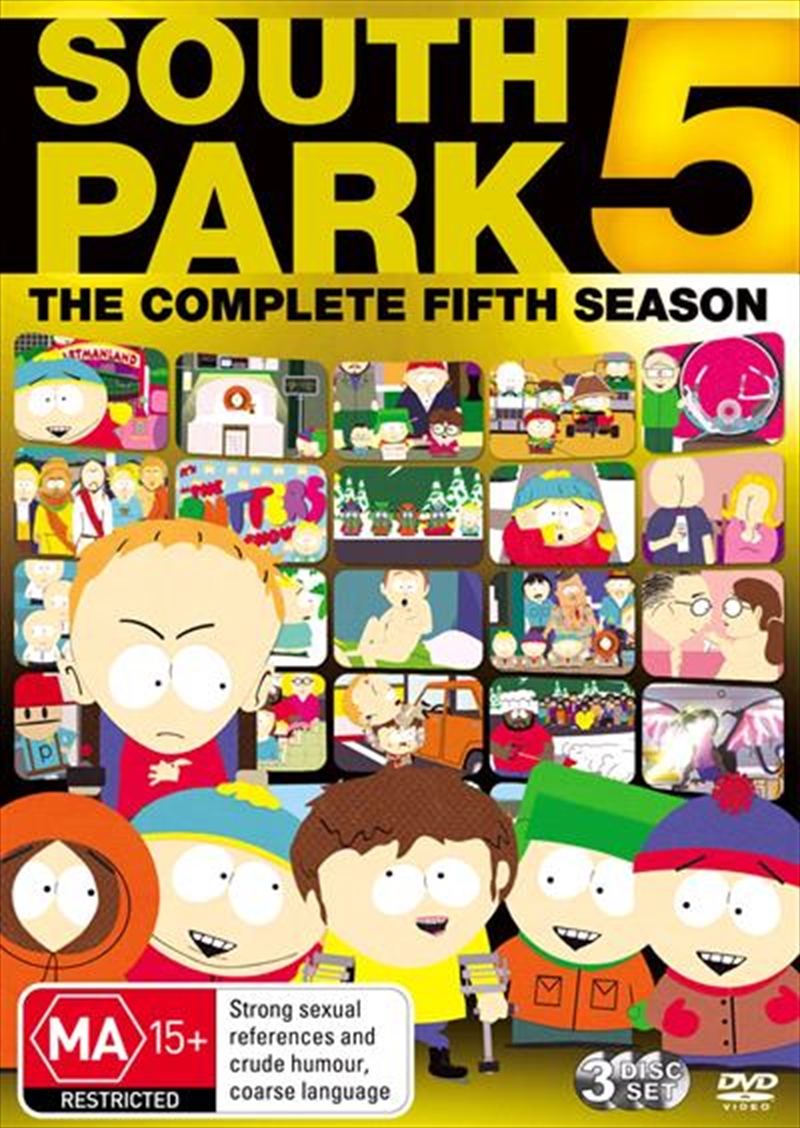 South Park - Complete Season 05 | DVD