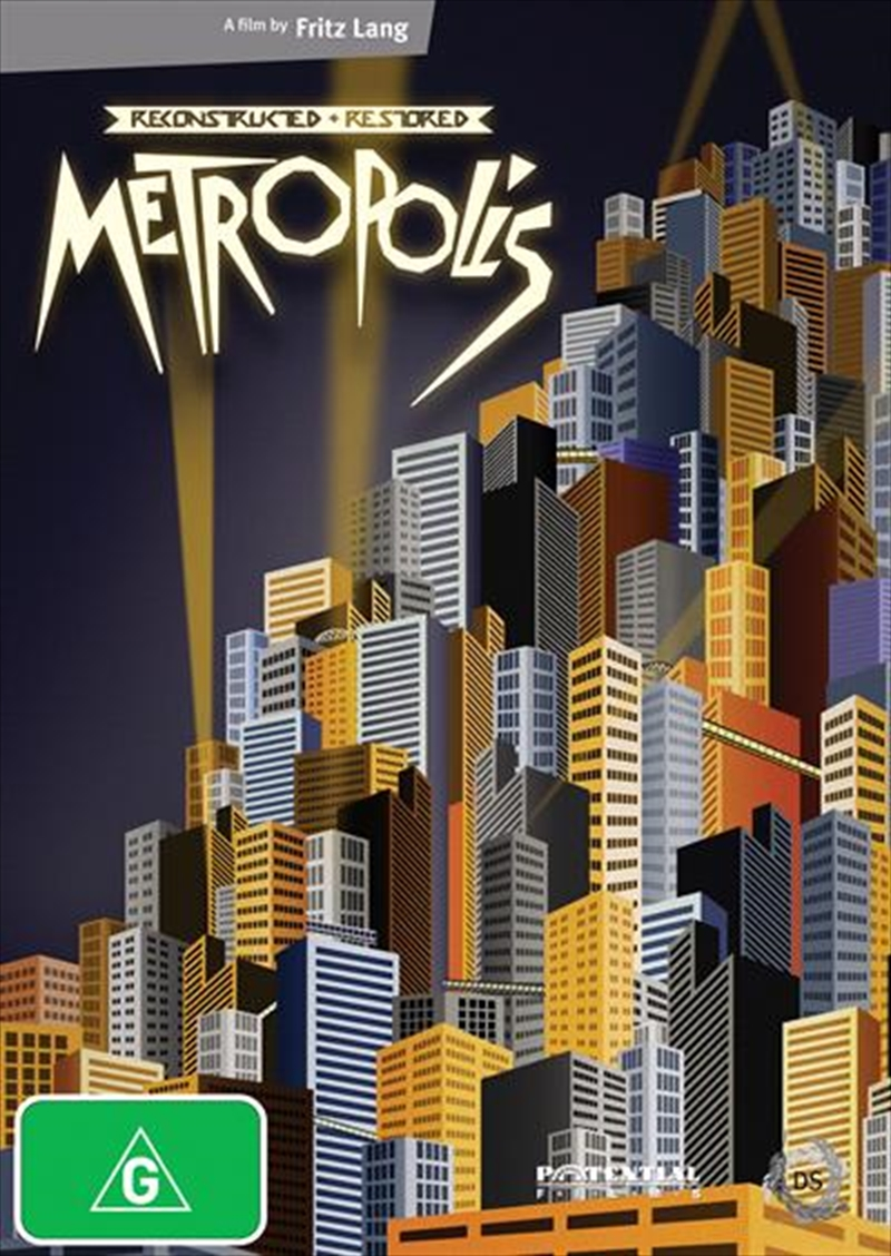 Metropolis Reconstructed and Restored | DVD