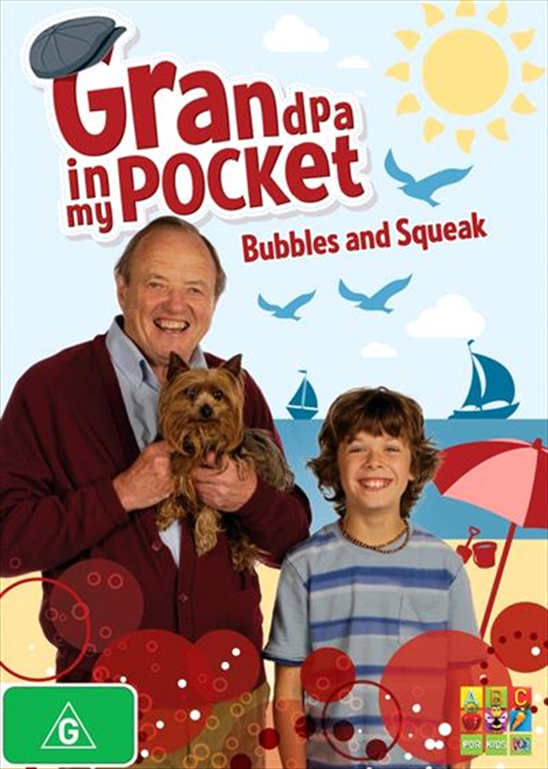 Buy Grandpa In My Pocket Bubbles And Squeak On Dvd Sanity