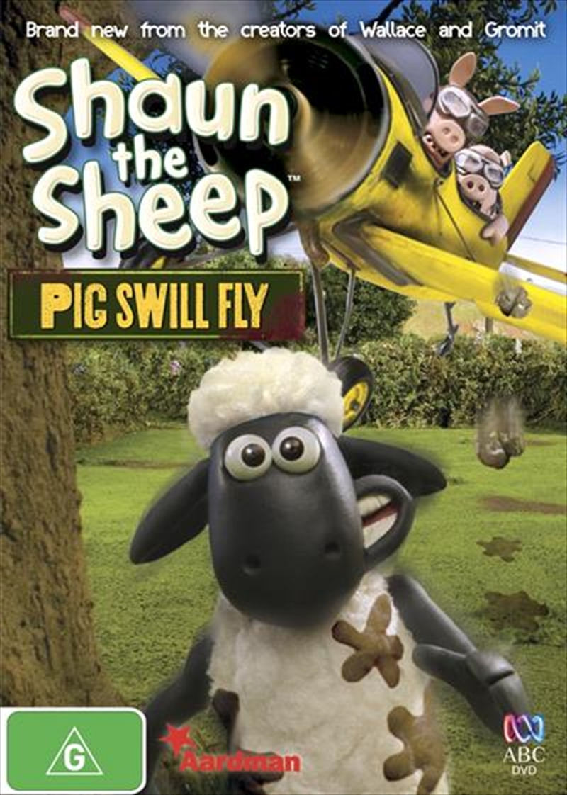 Shaun The Sheep - Pig Swill Fly | DVD