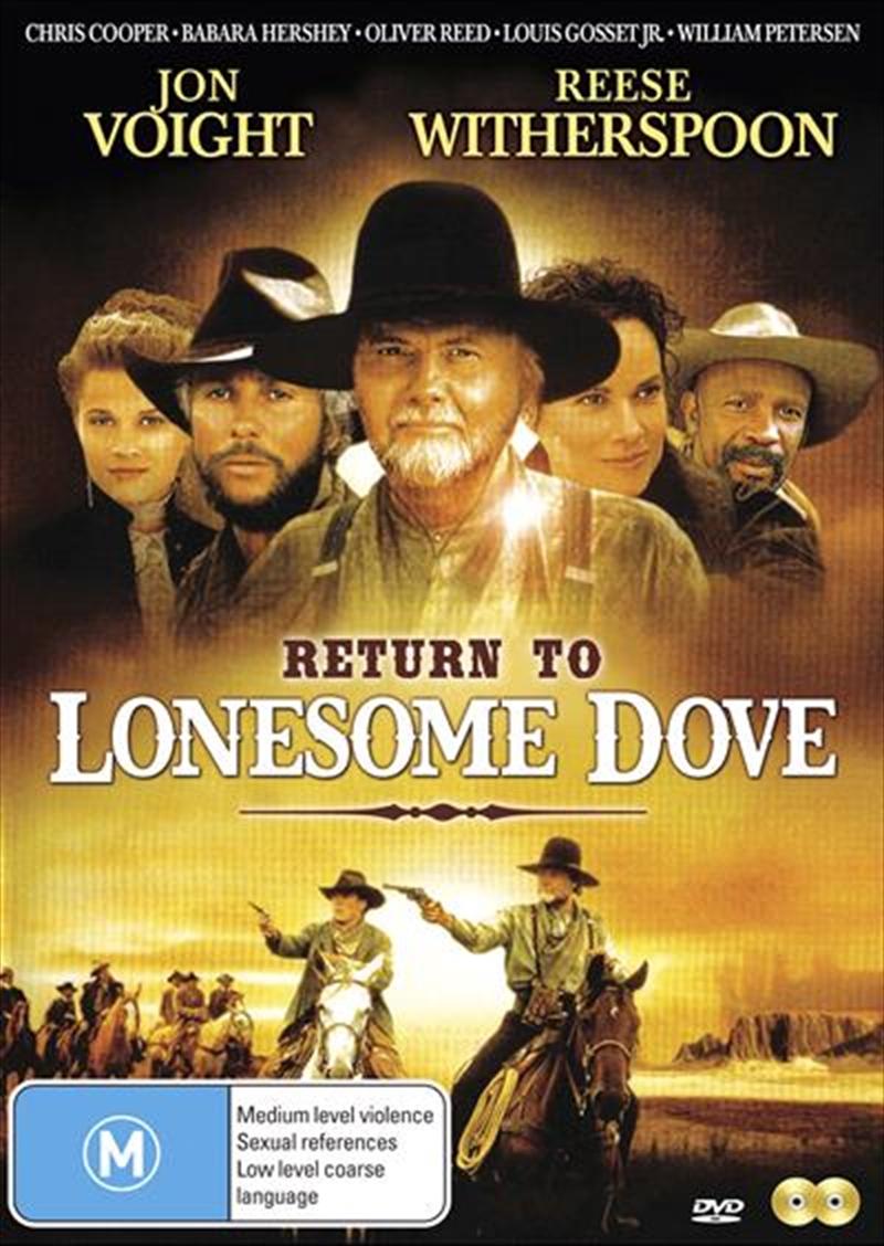 Return To Lonesome Dove   DVD