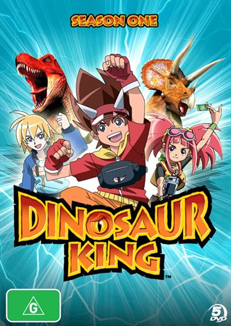 Dinosaur King The Complete Season 1 Animated Dvd Sanity