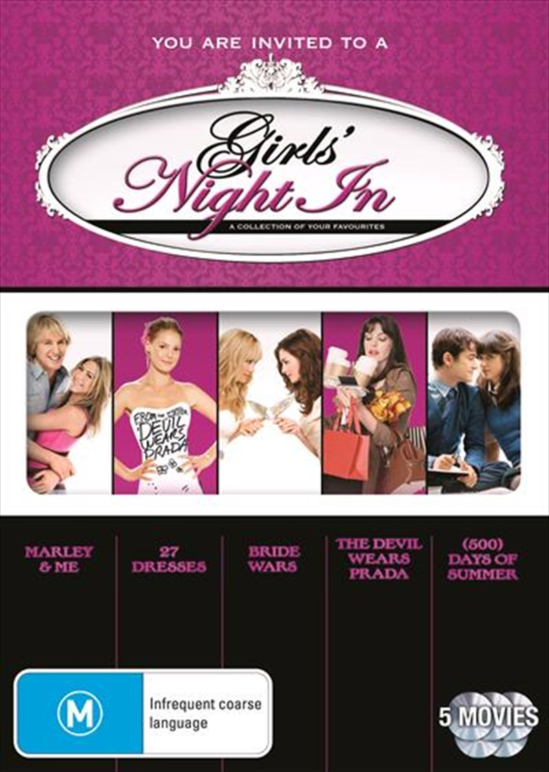 Girls' Night In - Romance Collection Boxset | DVD