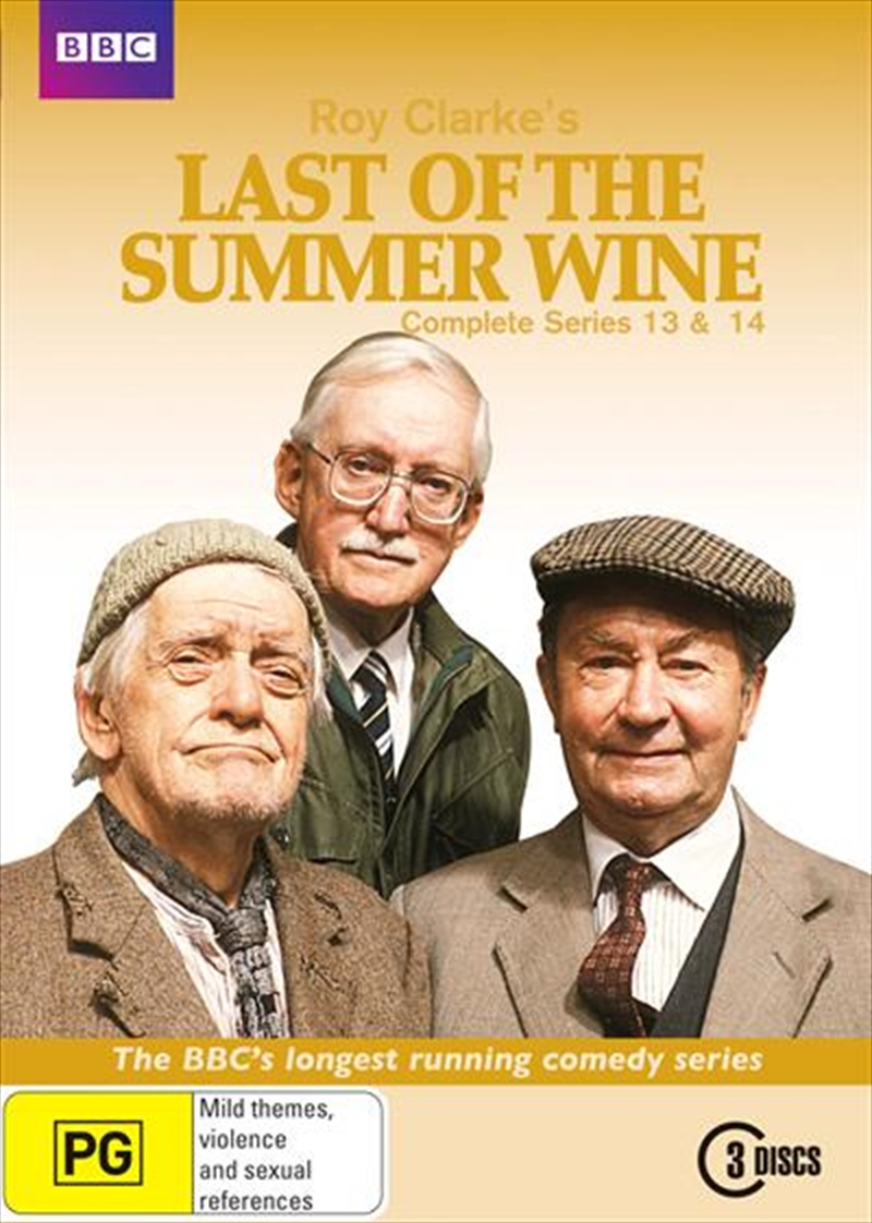Last Of The Summer Wine Series 13 And 14 Abc Bbc Dvd