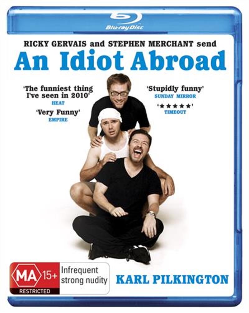 An Idiot Abroad - Series 1 | Blu-ray
