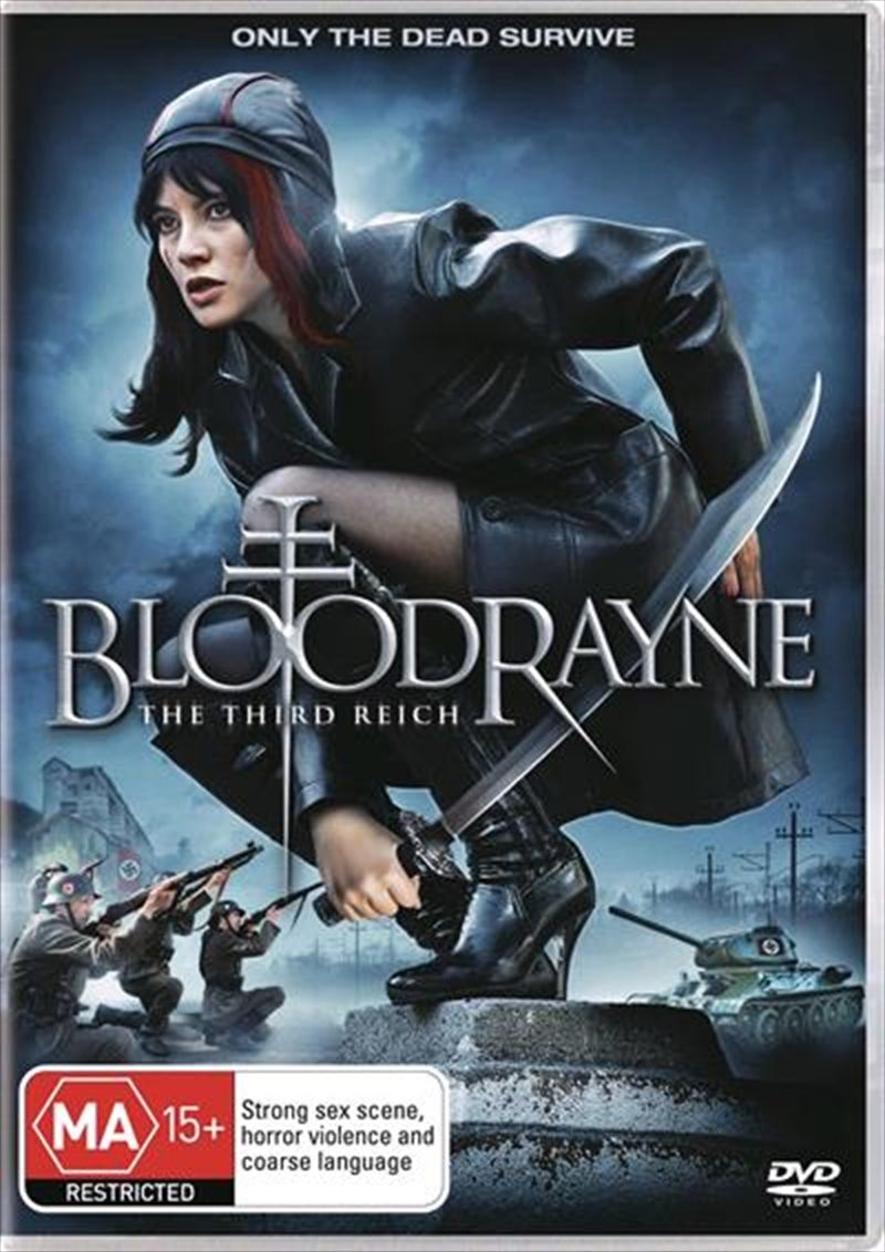 Bloodrayne The Third Reich Action Dvd Sanity