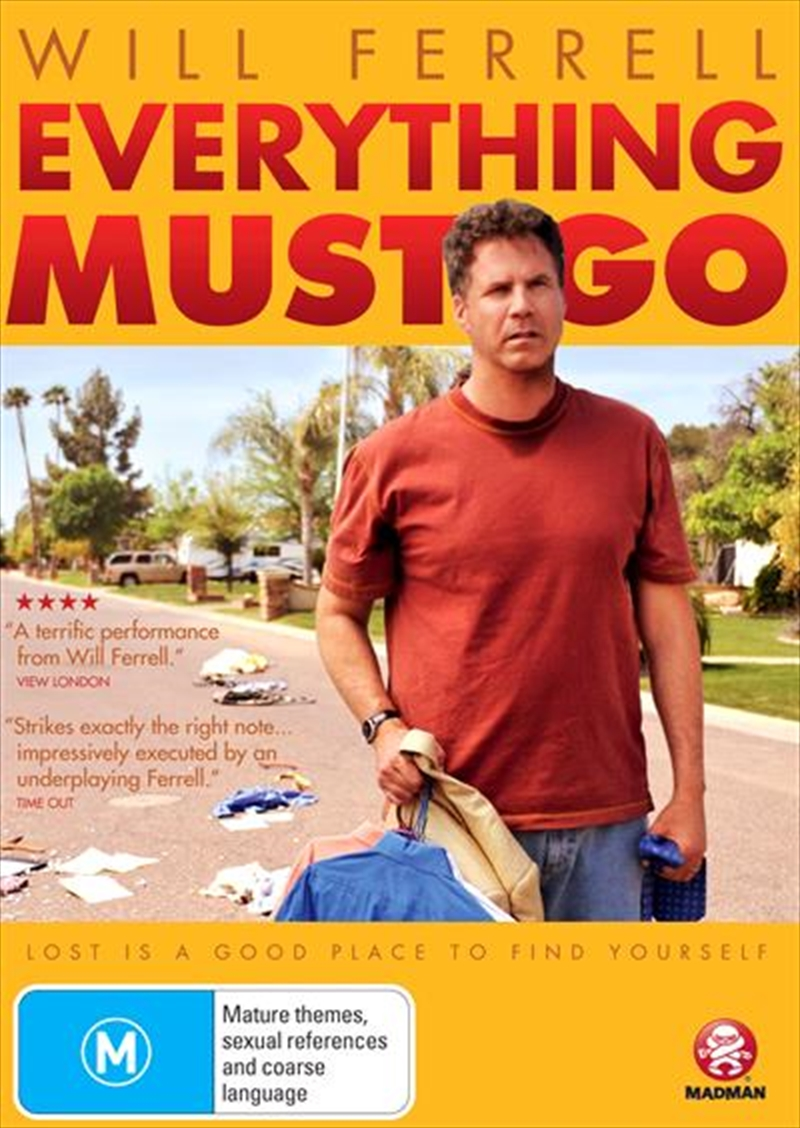 Everything Must Go | DVD