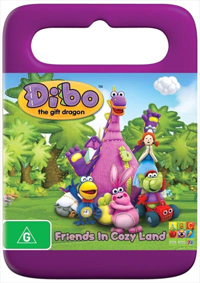 Dibo the gift dragon friends in cozy land abc dvd sanity dibo the gift dragon friends in cozy land negle Images